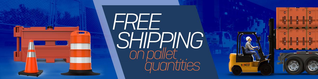 Traffic Supply Free Shipping on Bundles