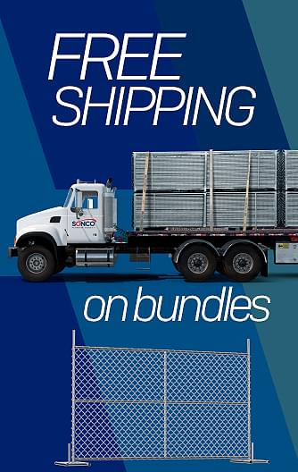 Temporary Fence Free Shipping Bundles