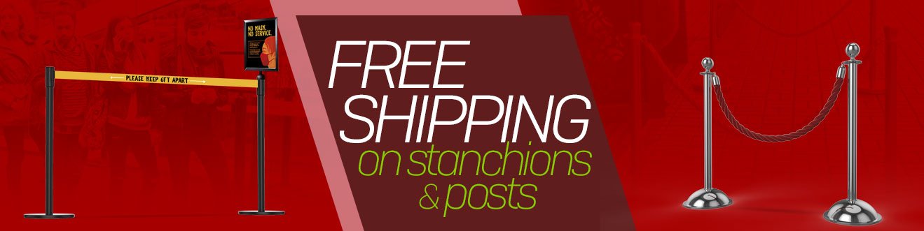 Stanchion Posts For Sale Free Shipping